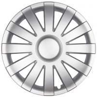 wieldoppen 14 inch Agat | silver