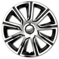 wieldoppen 15 inch Veron | chrome/zwart