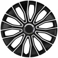 wieldoppen 15 inch Voltec Pro | zwart/wit