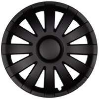 wieldoppen 16 inch Agat | zwart