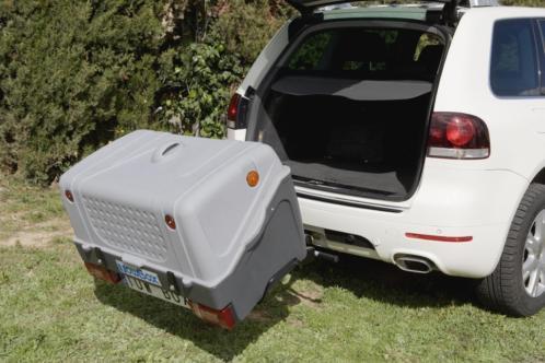 Towbox V1 grijs gekanteld