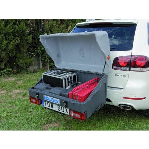 towbox v1 grijs auto