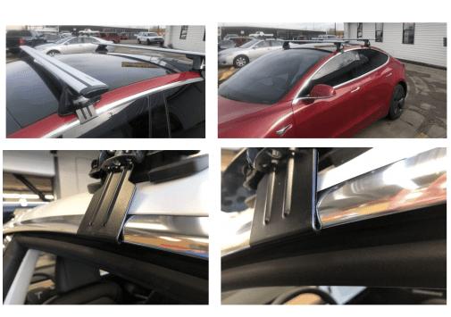 Montage dakdragers model 3