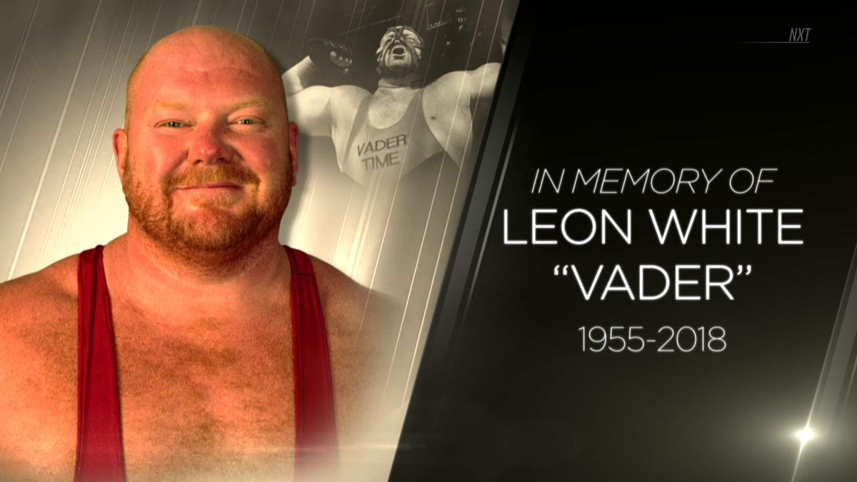 Wwe Releases Vader Tribute Video Wwe Network Collection