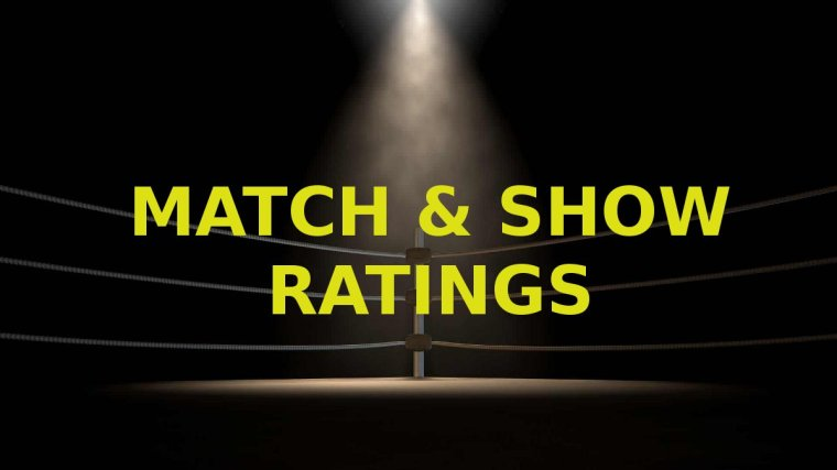 Match & Show Ratings for March 7 to March 13 – TPWW