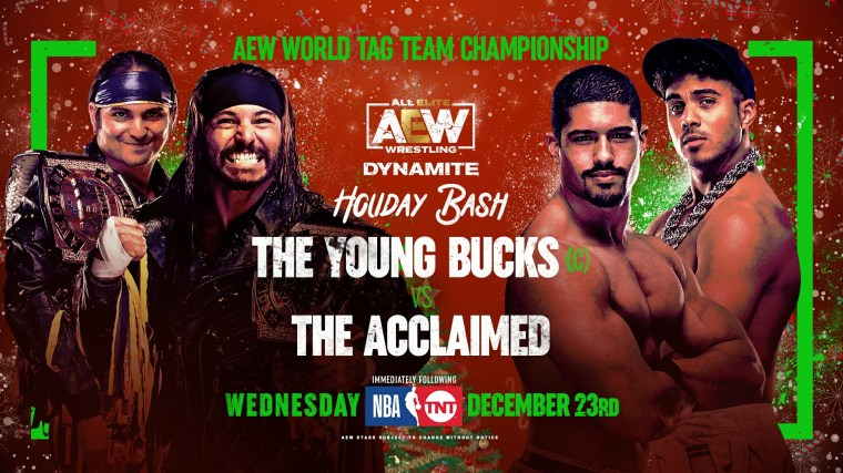 AEW Dynamite Results – Dec. 23, 2020 – Young Bucks vs. The Acclaimed – TPWW