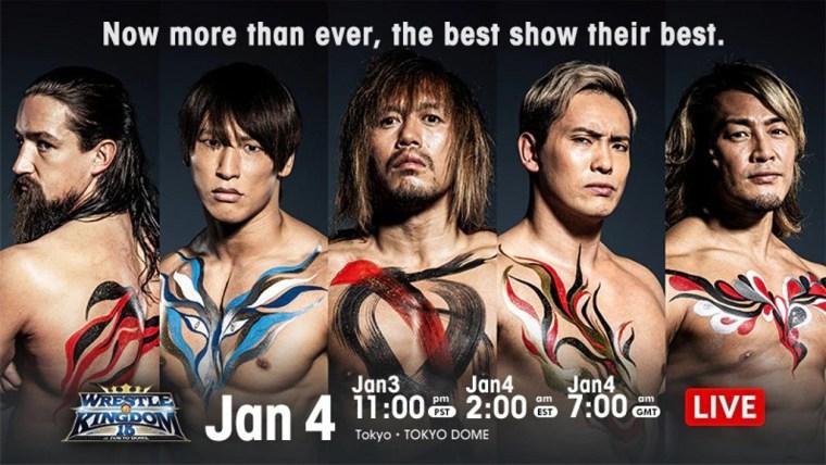 NJPW Wrestle Kingdom 15 Night 1 Results – Jan. 4, 2021 – Tetsuya Naito vs. Kota Ibushi – TPWW