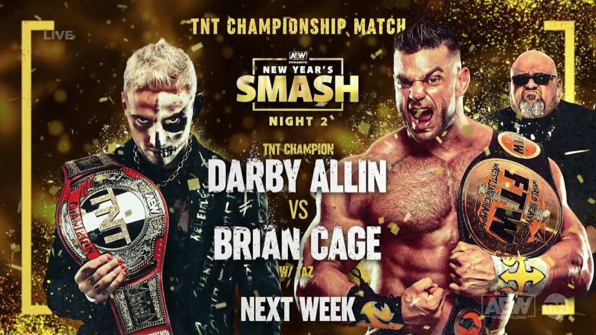 New Matches & Changes Announced to Card for AEW New Year's Smash Night 2 Next Week – TPWW