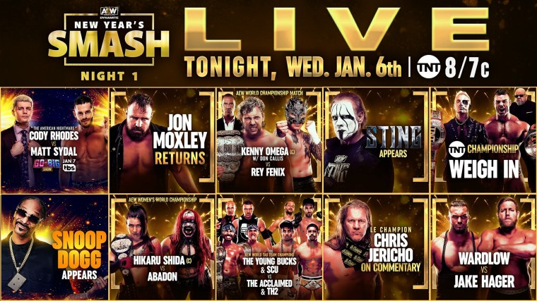 AEW Dynamite & NXT Cards for Tonight, NXT Fight Pit Match No Longer Advertised – TPWW