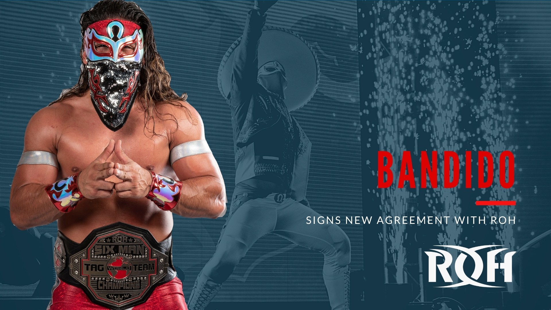 Ring of Honor Signs Bandido to New Contract – TPWW