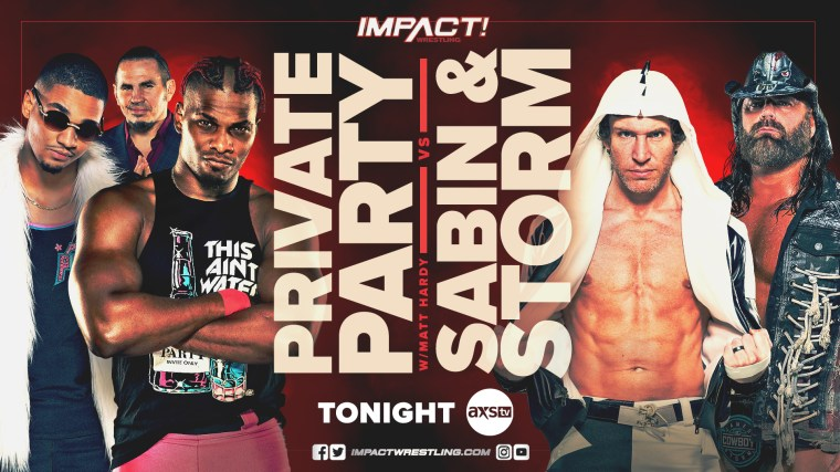 Impact Results – Jan. 19, 2020 – Private Party vs. Chris Sabin & James Storm – TPWW