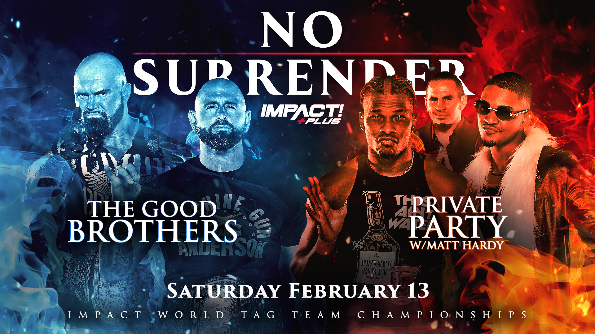 """Good Brothers vs. Private Party Title Match Announced for Impact """"No Surrender"""" Special – TPWW"""