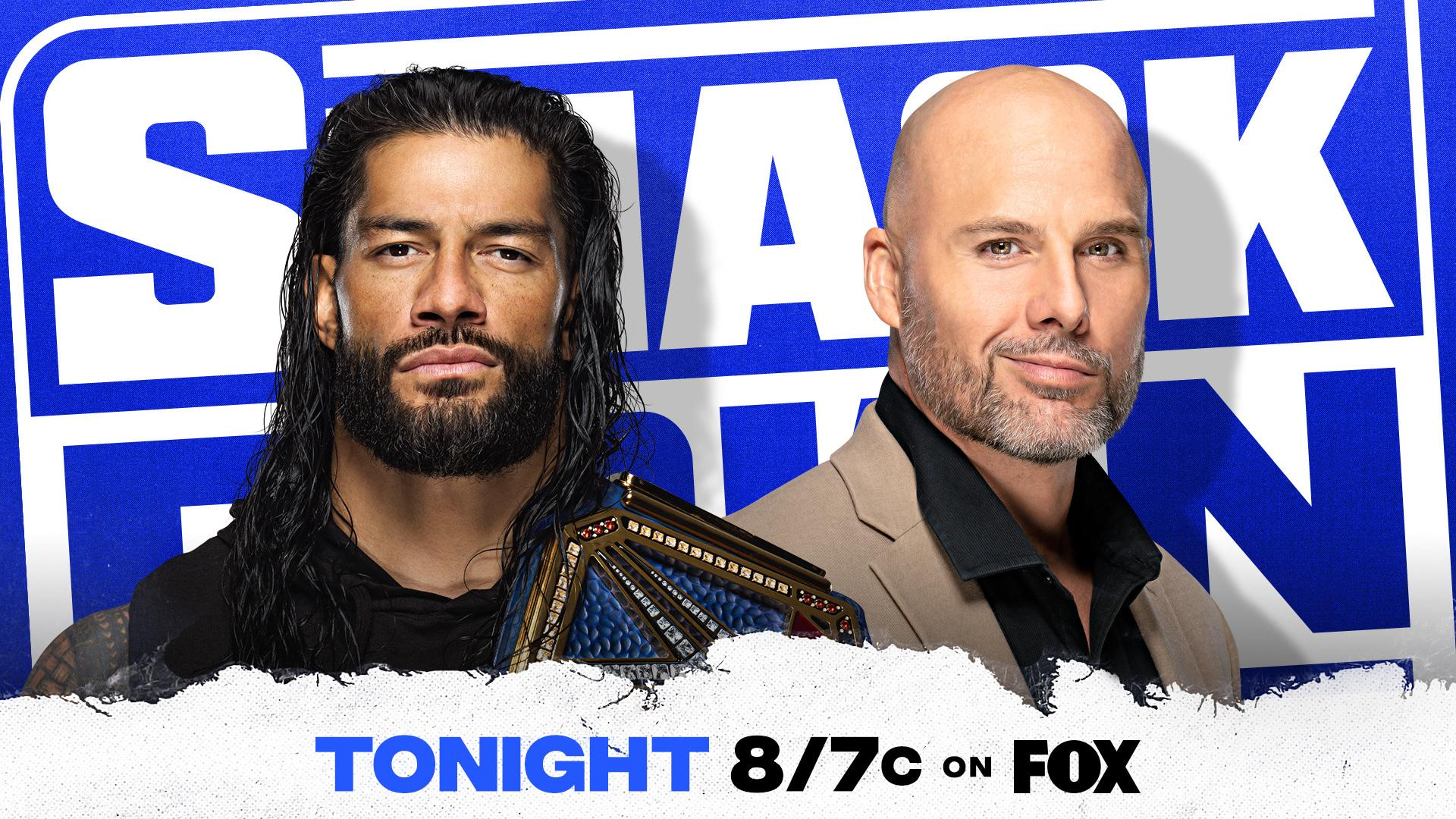 WWE SmackDown Results – Jan. 15, 2021 – Reigns and Pearce Contract Signing – TPWW