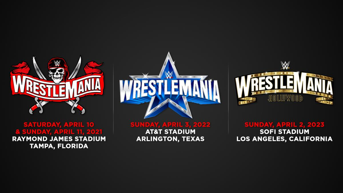 WWE Announces Dates and Locations for the Next Three WrestleManias, Some Fans Expected at WM 37 – TPWW