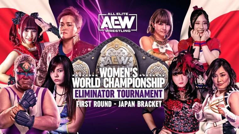AEW Women's Eliminator Tournament Japan Round 1 Results – Feb. 15, 2021 – TPWW
