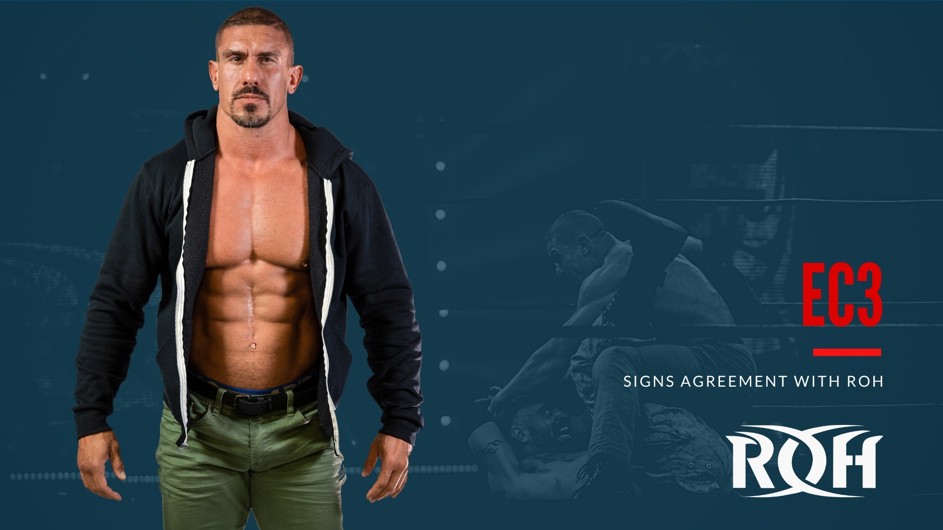 EC3 Signs With Ring of Honor – TPWW