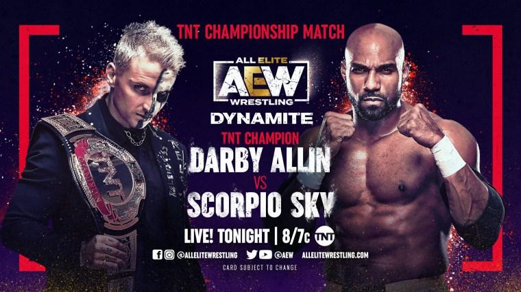 AEW Dynamite Results – Mar. 10, 2021 – Darby Allin vs. Scorpio Sky – TPWW