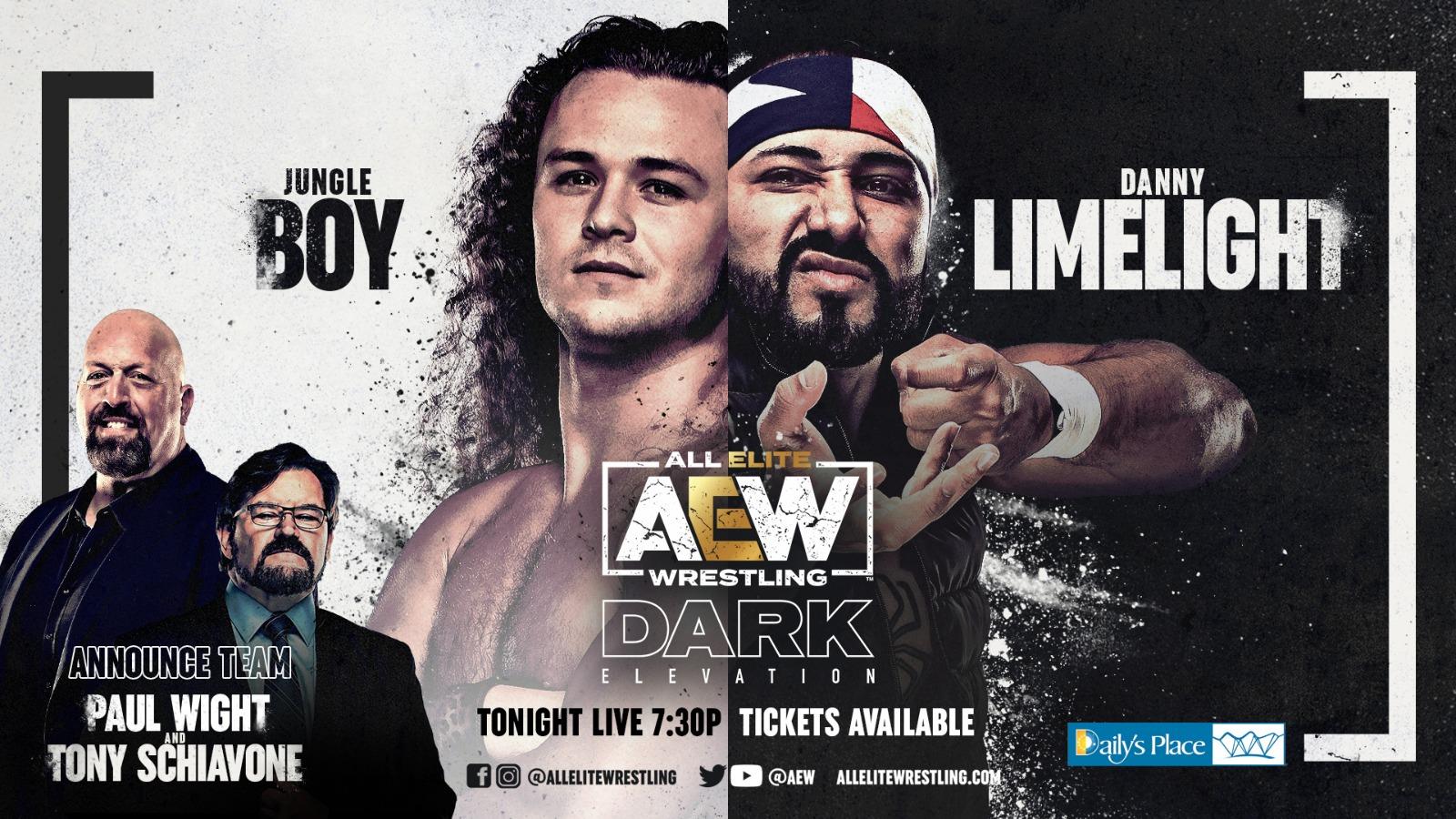 AEW Announces First Card for AEW Dark: Elevation – TPWW
