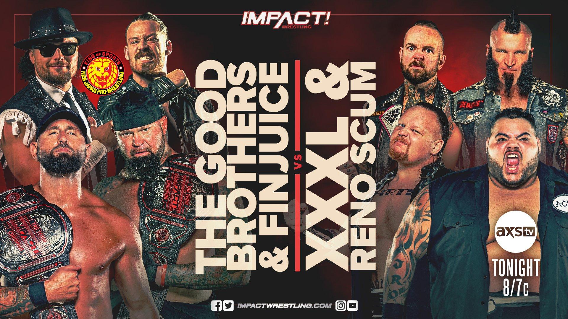 Impact Results – Mar. 2, 2021 – Purrazzo vs. Grace vs. Kiera Hogan – TPWW
