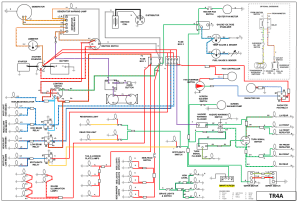 TR4a Wiring Diagram  TR44A Forum  TR Register Forum