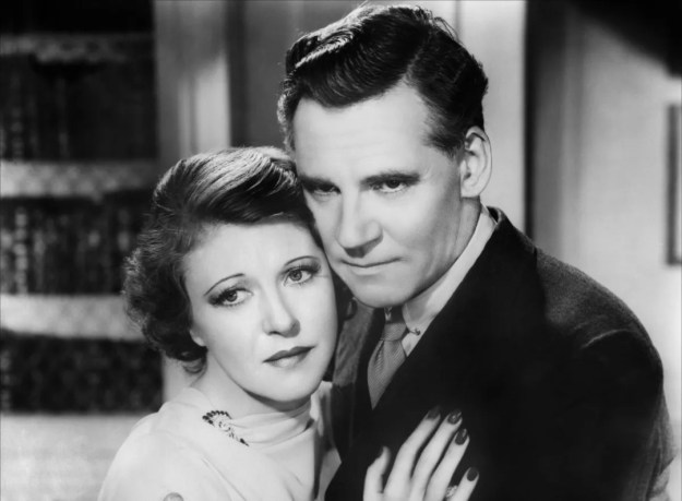 Ruth Chatterton, Huston:  'Did I remember to tell you today that I adore you?'