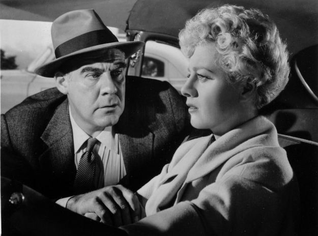 Paul Douglas, Shelley Winters:  'Honey, it'll be all right.'  Oh, no it won't.