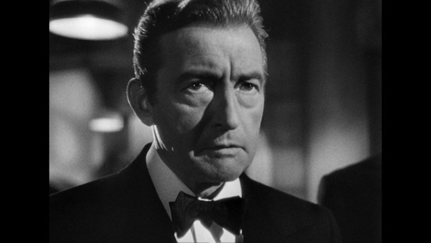 Claude Rains in 'Notorious':  The Nazi mama's boy.