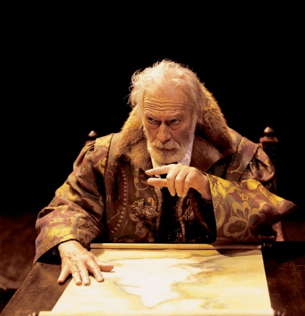 Plummer as Lear:  More sinned against than sinning, and very, very funny.