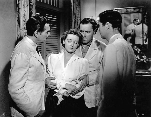 Stephenson, Davis, Herbert Marshall, Bruce Lester. Joyce:  'Well, you see, you're by the way of being under arrest now.' Leslie:  'Shall I be . . . imprisoned?'