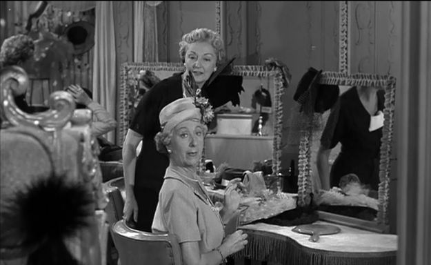 "Norma Varden as Emily French:  She is, what is known in Agatha Christie stories, ""ripe to die."""