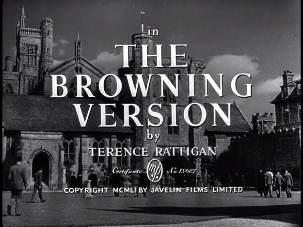 Title card to the 1951 screen version.