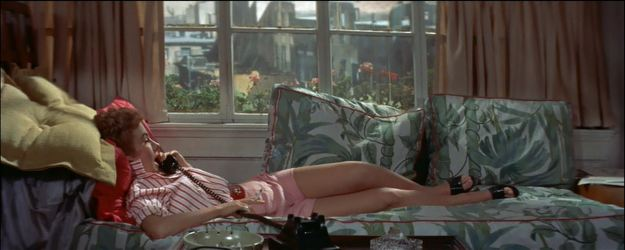 Peggy Ann Garner as Nancy Ordway: Put yer pants on, Spartacus . . . !