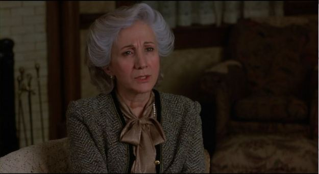 Olympia Dukakis as Rose Castorini: 'I just want you to know, no matter what you do, you're gonna die, just like everybody else.'