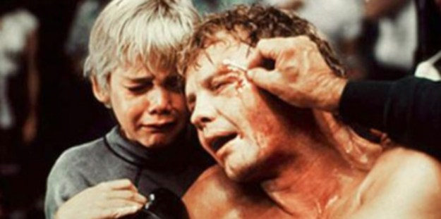 Ricky Schroeder, Jon Voight: Sob and weave -- A.J. Liebling it ain't.
