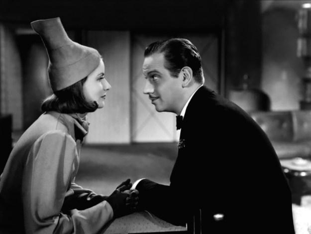 Greta Garbo and Melyvn Douglas in 'Ninotcha.'
