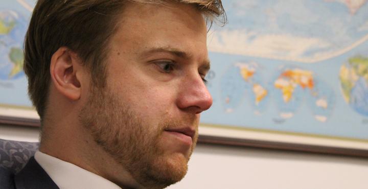 James Williams, presidente del proyecto bipartidista. Foto tomada de internet