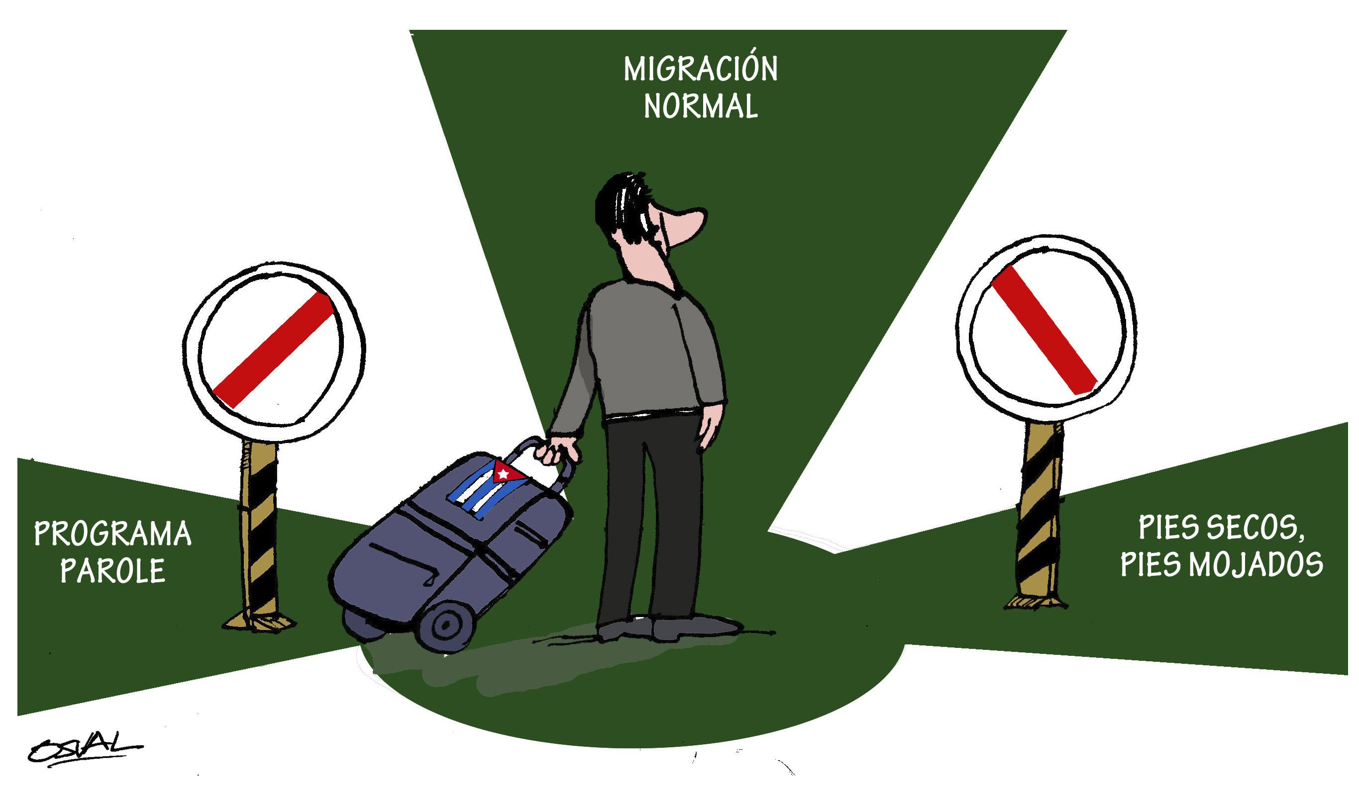 Resultado de imagen para Jorge Legañoa +  acuerdo migratorios