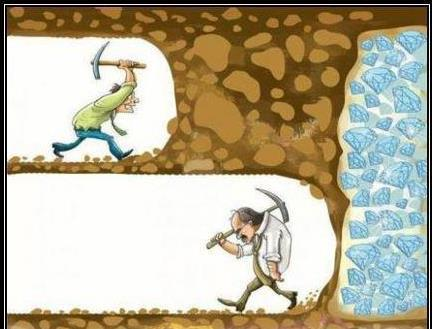 No rendirse ante los obstáculos