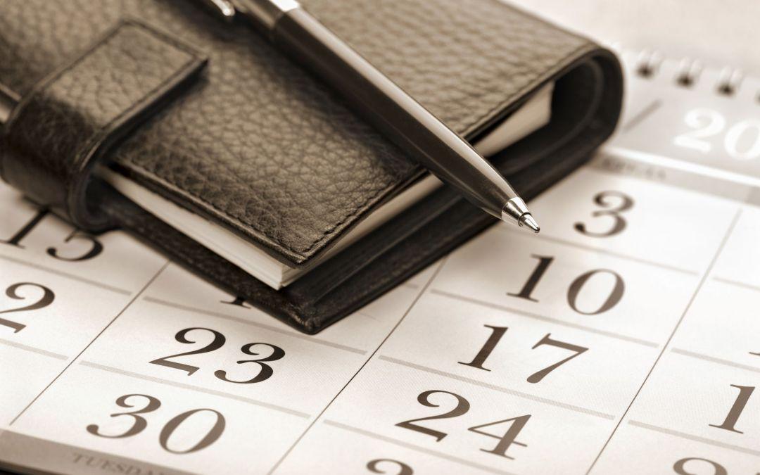 Razones para dejar huecos en tu agenda