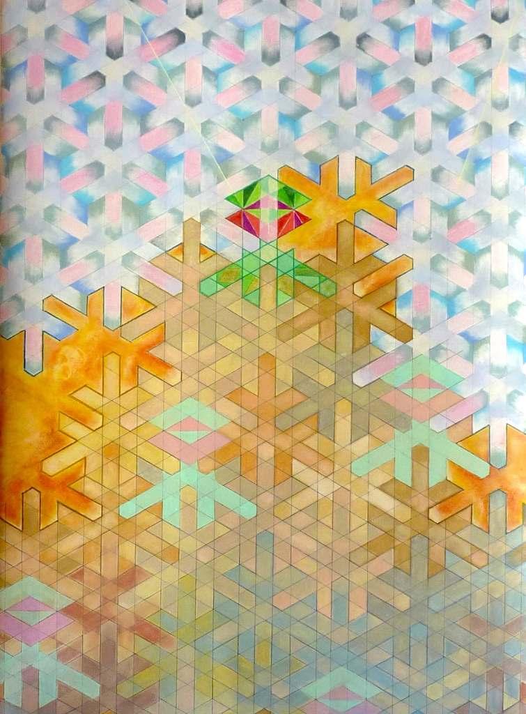 bip in tanger /// 100X150cm dry pastel on mounted paper