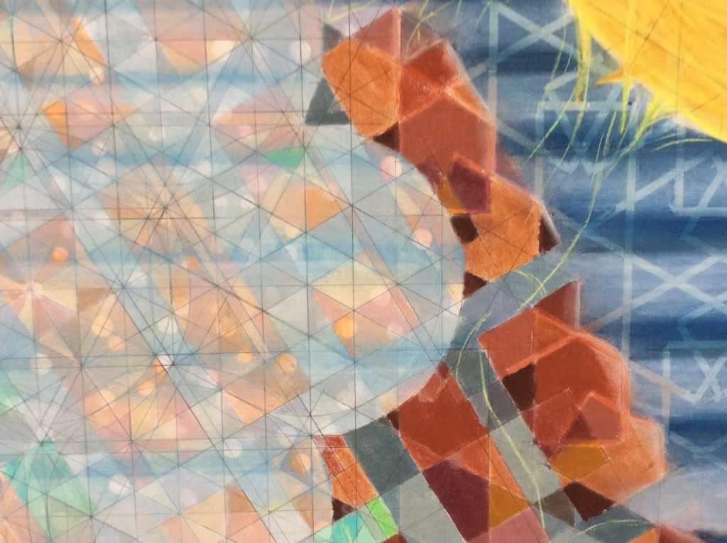 trou de mémoire detail Bruno Rossi artiste peintre Neuchâtel 2012 2018