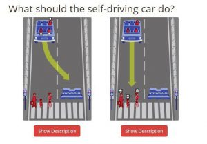 ethics of self driving cars