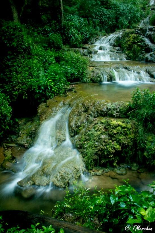 Lower Falls at Falling Spring Falls