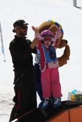 Emma Les Marmotton Ski School medal