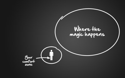 Comfort zone…stepping out of it again!