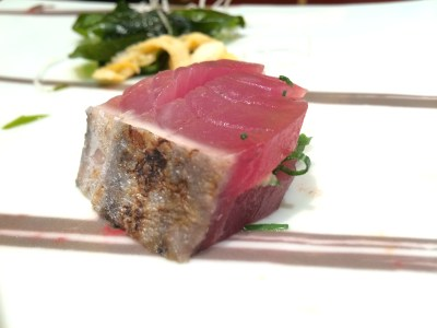 อาหารคำนึงของ Ginza Kyubey