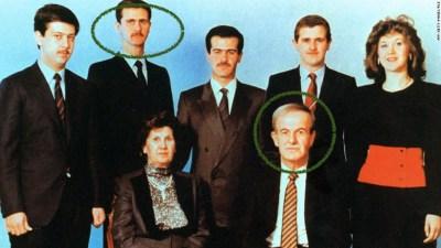 ครอบครัวประธานาธิบดีซีเรีย