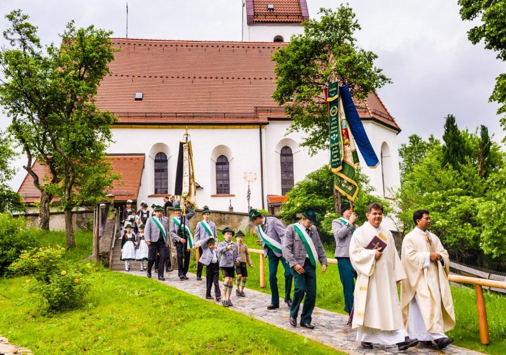 Trachtenjahrtag am 29. Mai 2014 in Grainbach