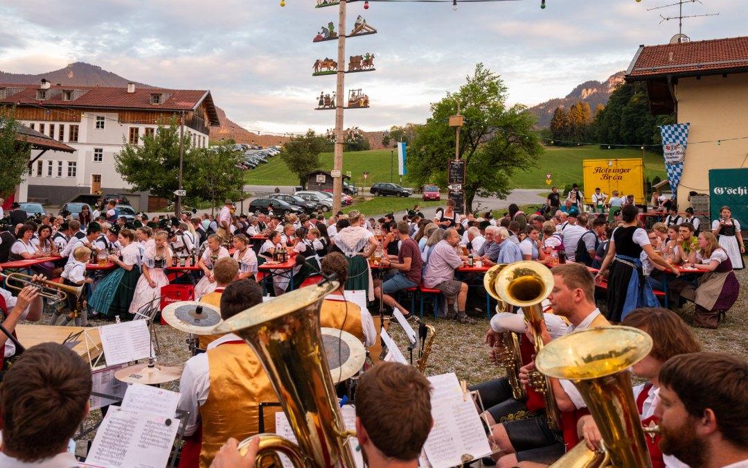 Dorffest in Roßholzen