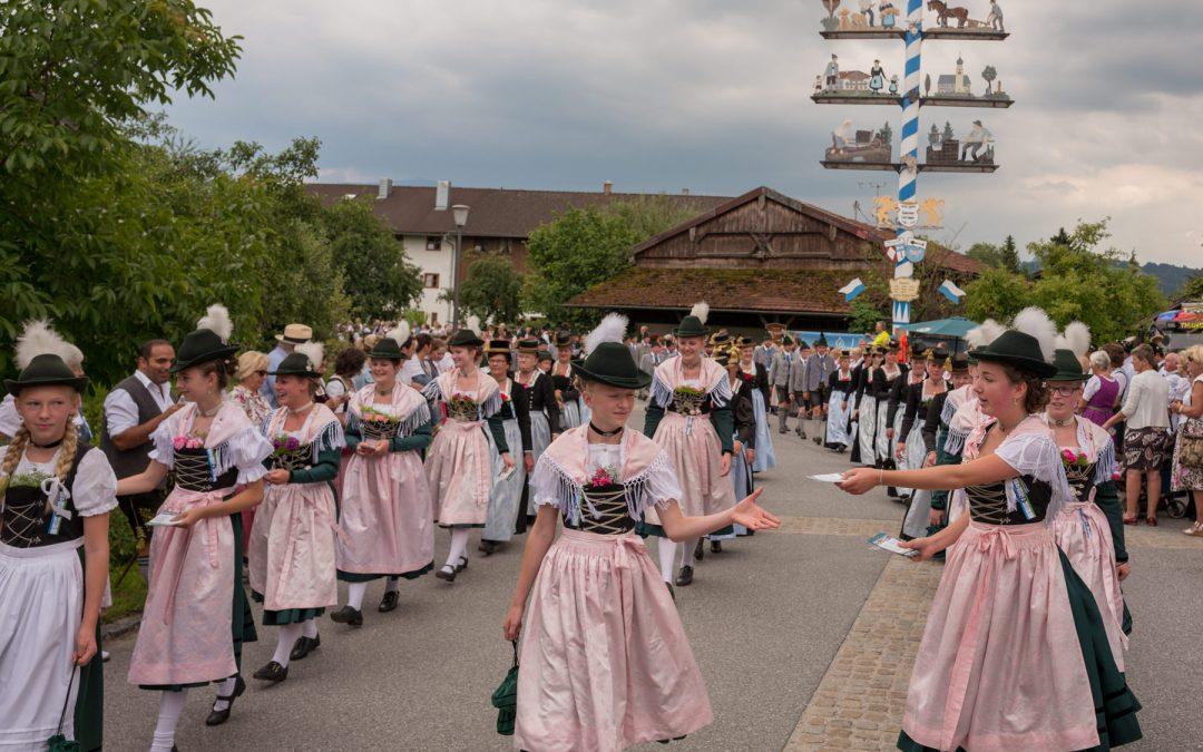 Gaufest in Lauterbach mit Teilnahme des GTEV-Roßholzen